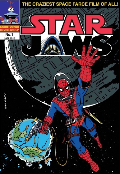 Star Jaws 1 - Shaky Kane A4 Variant-1